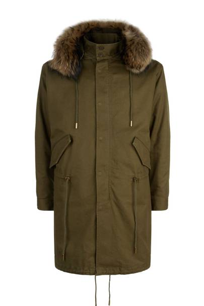 Parka by Saint Laurent