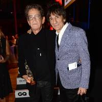 Lou Reed and Ronnie Wood