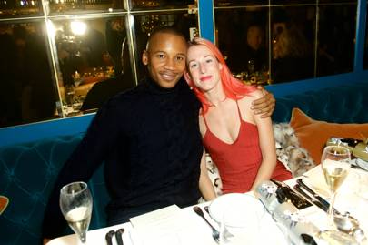 Eric Underwood and Katie Eary