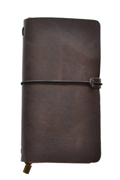 Pittard's leather traveller's journal