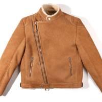 Billionaire Boys Club x Wolfman shearling suede jacket