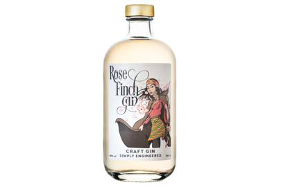 Rose Finch Gin by Driftwood Distillery