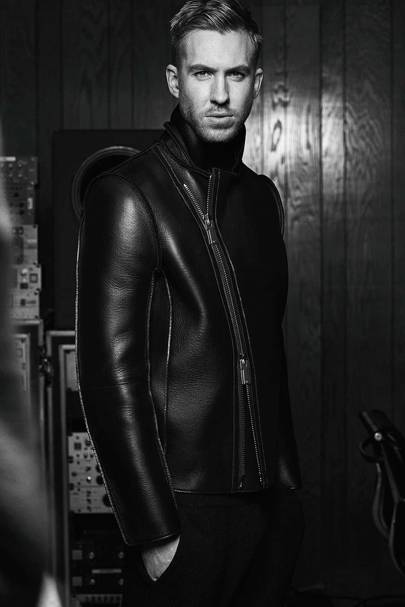 Calvin Harris dons Emporio Armani as an underwear model (again ... d343c8c8fb