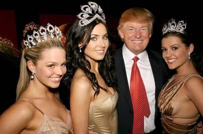 1996: Trump buys Miss Universe Inc.
