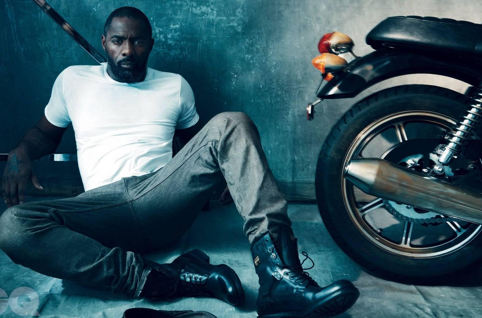 Idris Elba British GQ cover & photo shoot   British GQ