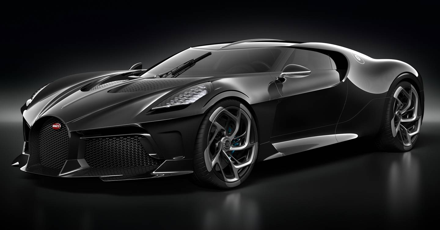 "2019 Bugatti La Voiture Noire Sketches By Etienne Gallery: The Bugatti ""La Voiture Noire"" Is The Most Expensive New"