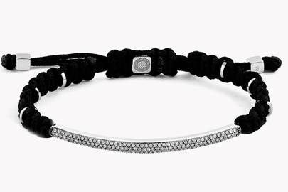 Macramé Windsor bracelet by Tateossian