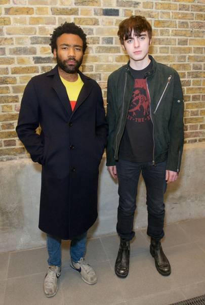 Donald Glover and Lennon Gallagher