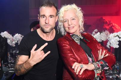 Philipp Plein with uber-photographer Ellen von Unwerth