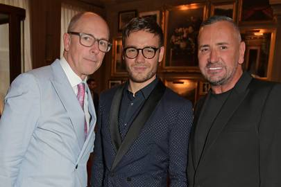 Inside GQ's London Fashion Week Men's dinner, cohosted by Liam Payne