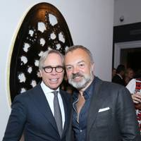 Tommy Hilfiger and Graham Norton