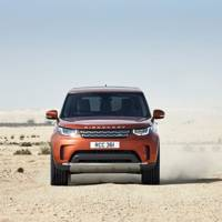 Land Rover Discovery 2017's seats