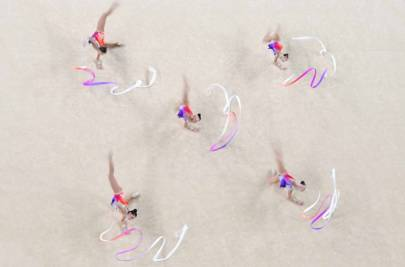Olympics Day 15: Rhythmic Gymnastics