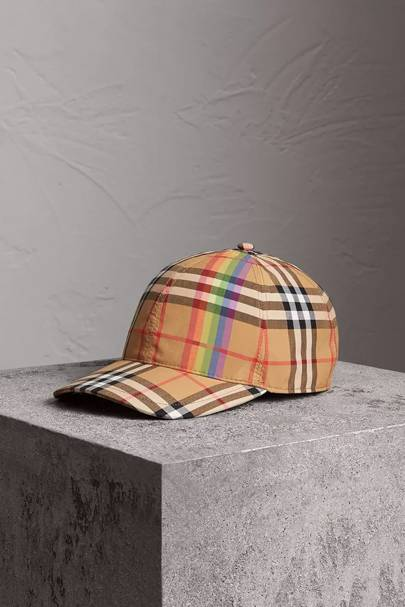 Baseball cap by Burberry