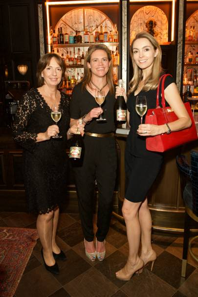 Jo Thompson, Louisa Hill and Helena Nicklin