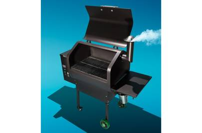 Daniel Boone Pellet Grill by Green Mountain Grills