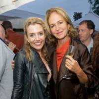 Lisa Dwan and Caroline Michel