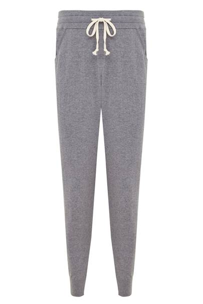 The White Company cotton-cashmere joggers