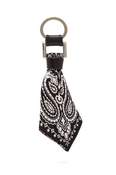 Bandana key ring by Amiri