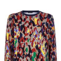9. Camo print sweater by Versace