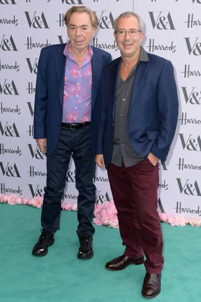 Andrew Lloyd Webber and Ben Elton
