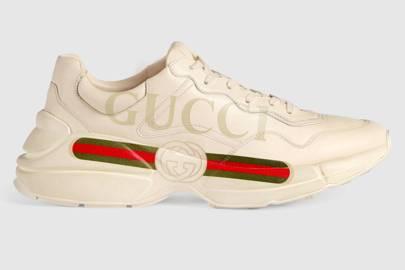 Rhyton logo trainers by Gucci