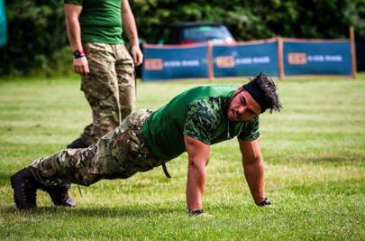 train like a royal marine and get military strength