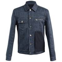 Patched denim jacket by Edench NYC