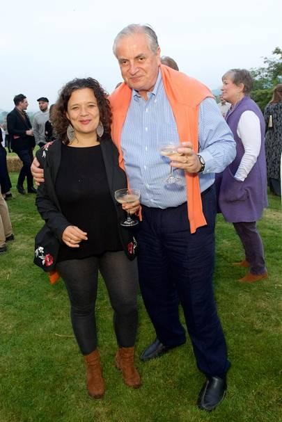 Cristina Fuentes La Roche and Rurik Ingram