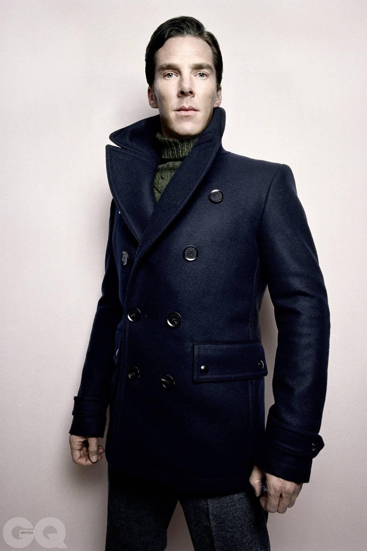 Benedict Cumberbatch Sherlock Series Three And Gq Cover British Gq