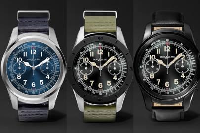 Exclusive Montblanc Summit smartwatch launch   British GQ c9c00344fc
