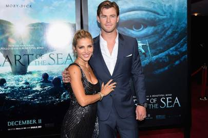 Chris Hemsworth and Elsa Pataky are superheroes of style