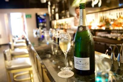 Palmer & Co Champagne at the Waeska Bar