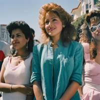 Three Girls on 24th Street, San Francisco, 1985