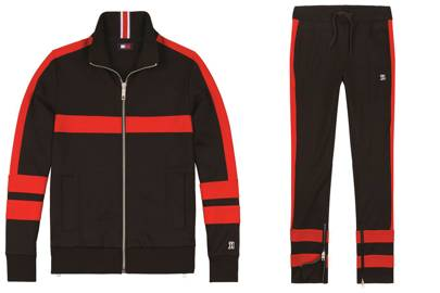 Tommy Hilfiger Lewis Hamilton Striped Tracksuit