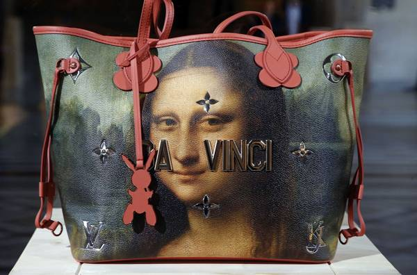 Jeff Koons' Louis Vuitton bags are like marmite