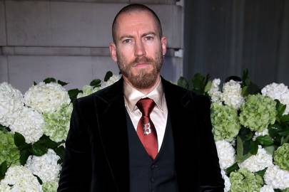 Justin O'Shea, former creative director of Brioni