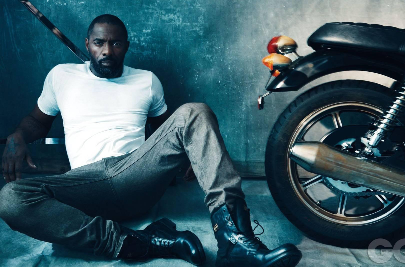 Idris Elba British GQ cover & photo shoot | British GQ