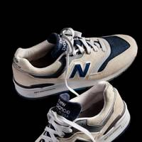 J Crew x New Balance 997 'Moonshot' trainers