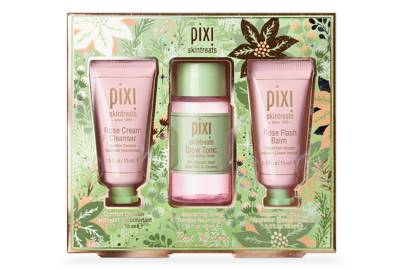 Best of Rose travel gift set by Pixi