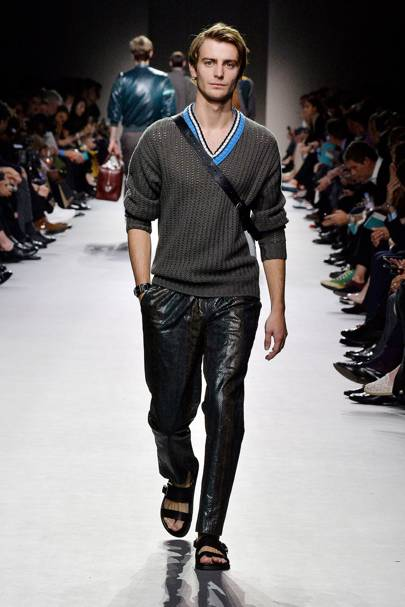V-neck jumpers are no longer your grandfather's go-to