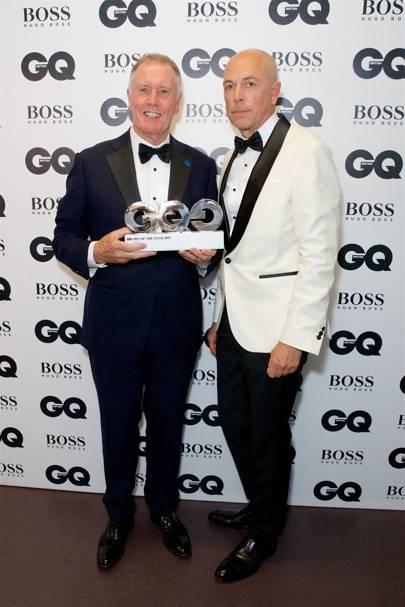 Sir Geoff Hurst and Dylan Jones
