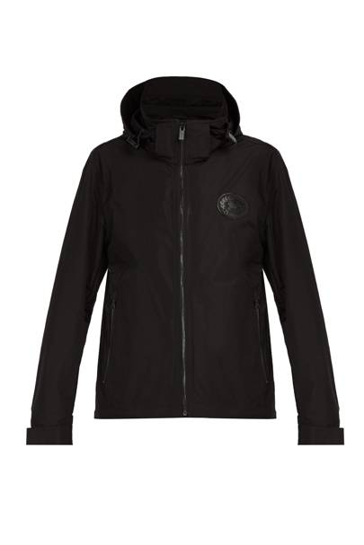 Hooded windbreaker jacket by Burberry