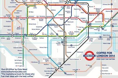 life expectancy tube maps
