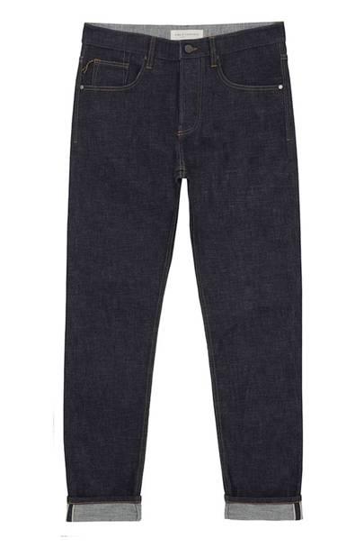 King & Tuckfield 'Aubrey' selvedge jeans