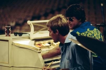 Dennis and Brian Wilson
