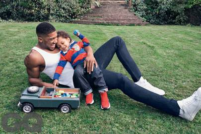 fff96ebab19 Anthony Joshua and his son appear on GQ s cover