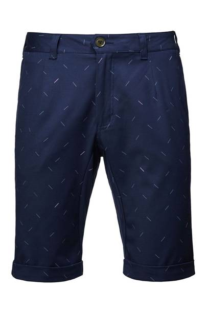 Tailored Summer Print Shorts