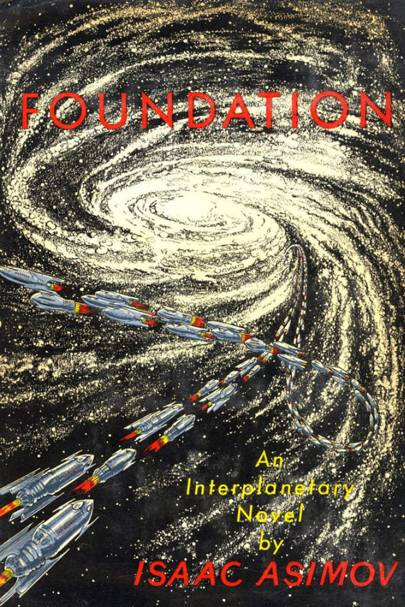 Foundation series, by Isaac Asimov