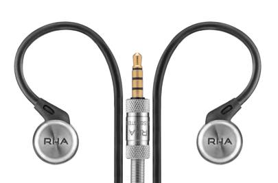 43. RHA headphones